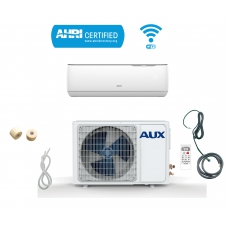 AUX 12000 BTU Ductless Air Conditioner Heat Pump J-Smart MINI Split 1 TON 110V 17 SEER 25 ft Line set WiFi Control