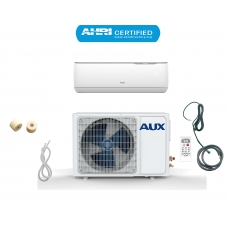 AUX 12000 BTU Ductless Air Conditioner Heat Pump J-Smart MINI Split 1 TON 110V 17 SEER 12 ft Line set Non WiFi Control