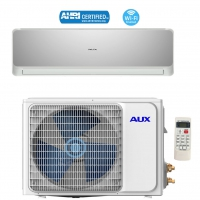 AUX 24000BTU Ductless Air Conditioner Heat Pump MINI Split 12ft 230V 16 SEER WiFi Control
