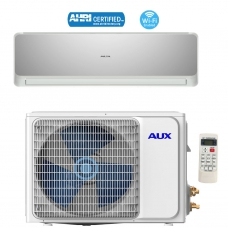 AUX 24000BTU Ductless Air Conditioner Heat Pump MINI Split 12ft 230V 17 SEER WiFi Control